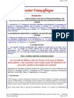 Dossier Francafrique
