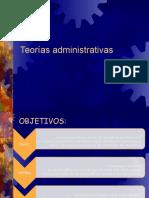 Teorías Administrativas