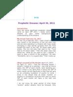 D-01 Prophetic Dream - April 30, 2011