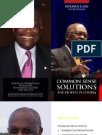 Cain Common Sense Solutions