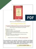 Institutas da Religião Cristã  de João Calvino- Edição Especial, Ed. CEP - trechos de todos os capitulos