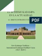 Librillo El Budismo Kadampa