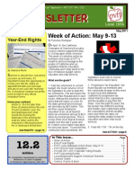 PVFT Newsletter, May 2011