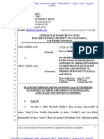 LIBERI v TATIZ (C.D. CA) - 186.2 - # 2[RECAP] Memorandum - gov.uscourts.cacd.497989.186.2