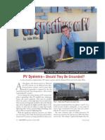 IAEI-9to10-04 Grounding of PV Systems