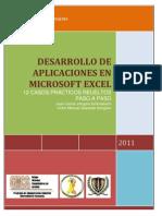 DESARROLLO DE APLICACIONES EN MICROSOFT EXCEL 12 CASOS PRÁCTICOS