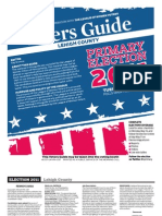 2011 Voters Guide