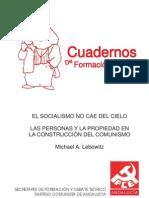 Cuaderno El Socialismo No Cae Del Cielo
