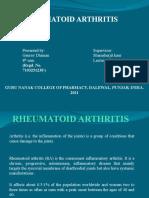 Gaurav Dhiman(7103251238) ids Arthritis