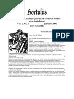 Hortulus Volume 2 2006
