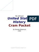 APUSH Cram Packet