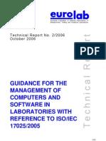 EUROLAB Software Guidance