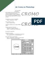 011 Texto de Cromo en Photoshop