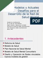 Modelos y Actuales Desafíos SM (jornada Nacional abril 2007