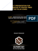 Prayer in the Polar Zones - Reviewed Adding Verses