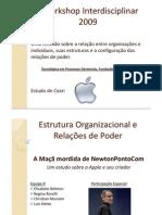 Estrutura Organizacional e Relacoes de Poder Ppt