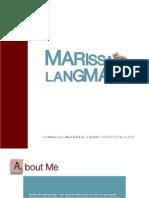 Marissa Langman Portfolio