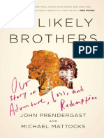 Unlikely Brothers by John Prendergast and Michael Mattocks - Excerpt