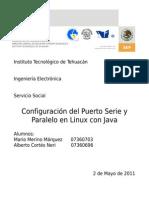 javax.comm API Instalación Ubuntu e instalación JDK