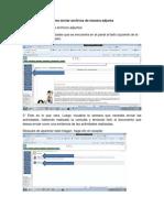 Como Enviar Archivos de Manera Adjunta Planificacion