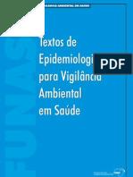 Epidemio - Livro - Textos de Epidemiologia para Vigilância Ambiental em Saúde