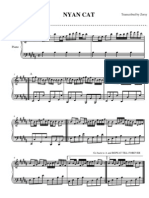 Nyan Cat Sheet Music