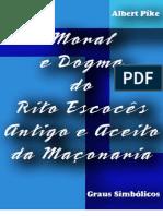 LIVRO Moral e Dogma Albert Pike (Em Portugues