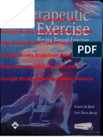 Therapeutic Exercise- Moving Toward Function by Carrie M. Hall- Lori Thein Brody