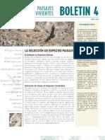 Seleccion de Especies-paisaje