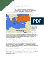 Breve Resumen de Historia de Grecia