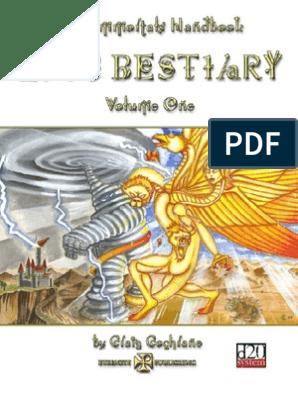The Immortals Handbook - Epic Bestiary - Volume One [v1 5