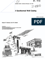 Geothermal Well Casing Buckling
