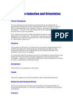 Policy - Induction - SC Johnson - Word 2000