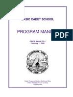 Cadet Basic Training Guide (2000)