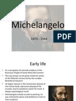 Michelangelo Presentation