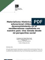 El Neoliberalismo y la contextualización a los Derechos Humanos
