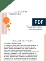 Tipos y Clases de Protocolo