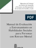 Manual de Evaluacion y Entrenamiento en des Sociales]