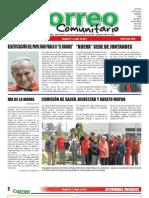 Correo Comunitario  Mayo 2011. Ed.47