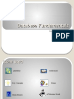 Database Fundamentals Presentation