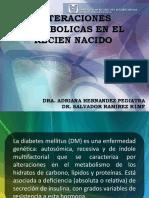 Enf. Metabolicas. Pediatria