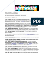 ArtWalk 2011 Events May6-7 Fri & Sat