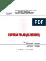EMPRESAS POLAR (ALIMENTOS)