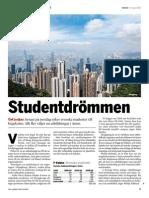 """""""Studentdrömmen"""", för Fokus"""
