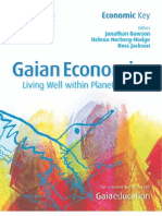 Economic Key - Gaian Economics - Living well within planetary limits