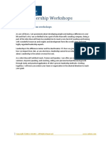 New Leadership Workshops