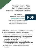 Japanese Area Lesson