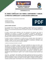 Diplomado internacional didáctica y currículo