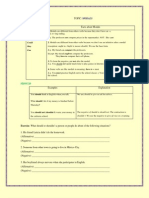 Unit II. 3 Worksheets, Modals