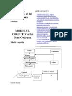 Modelul Cognitiv Al Lui Jean Cottraux